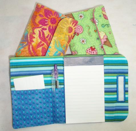 ITH Tri-Fold Note book Holder for 3x5 notebook-