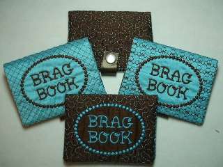 ITH Small Brag Book-photo album, brag book
