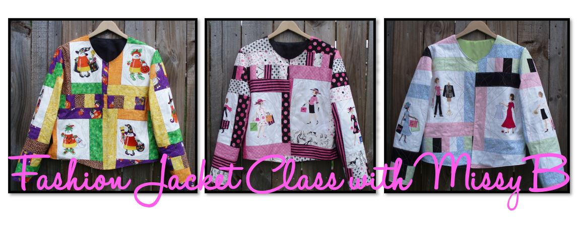 October 2020 Fashion Jacket Class