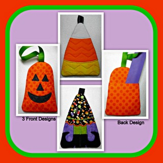 ITH Halloween Cuties Treat Bag