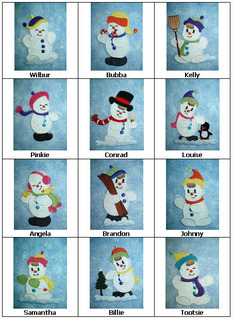 Cute Snowmen-