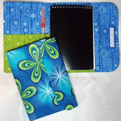 ITH Tri Fold Note book Holder for 4x6 note book-