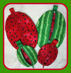 ITH Watermelon Zippered Bag-